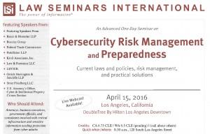 Law Seminars International Brochure